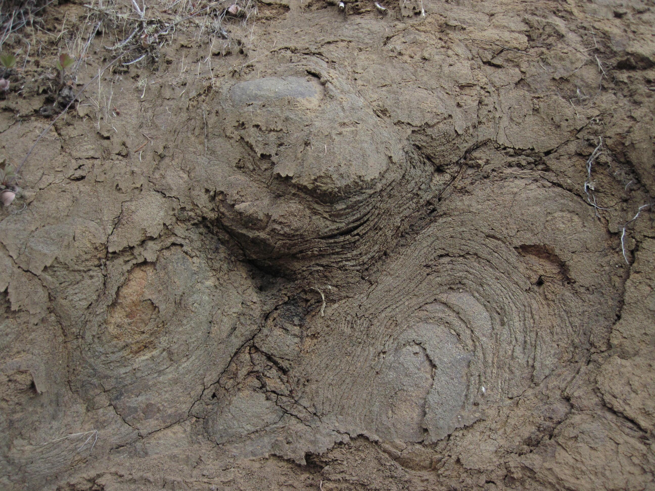 Spheroidal weathering gopher valley journal for Explain soil