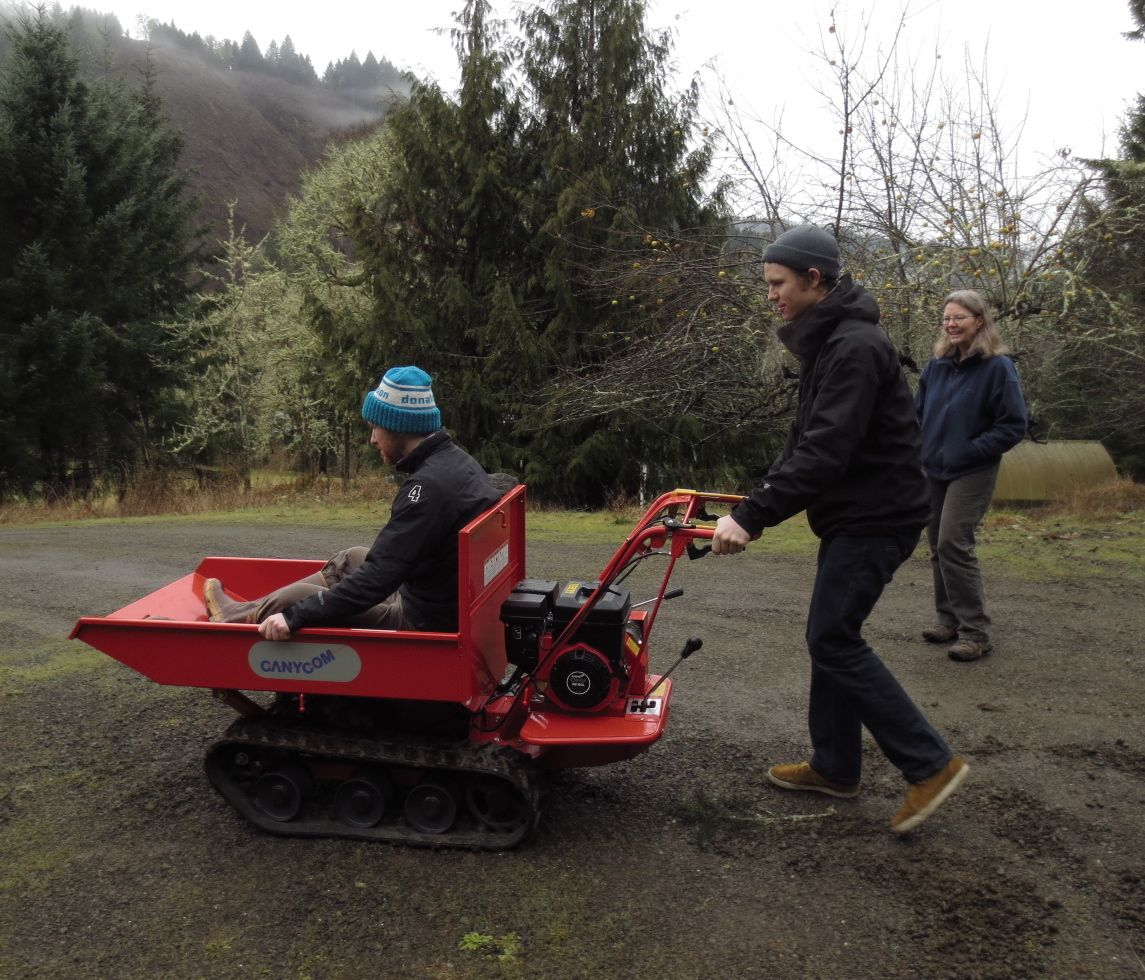 Power Wheelbarrow Gopher Valley Journal